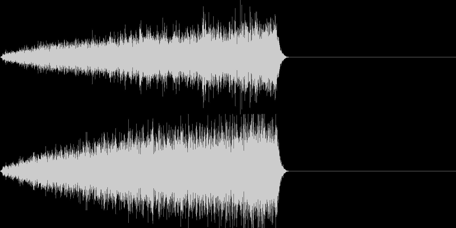 映画向け効果音15の未再生の波形