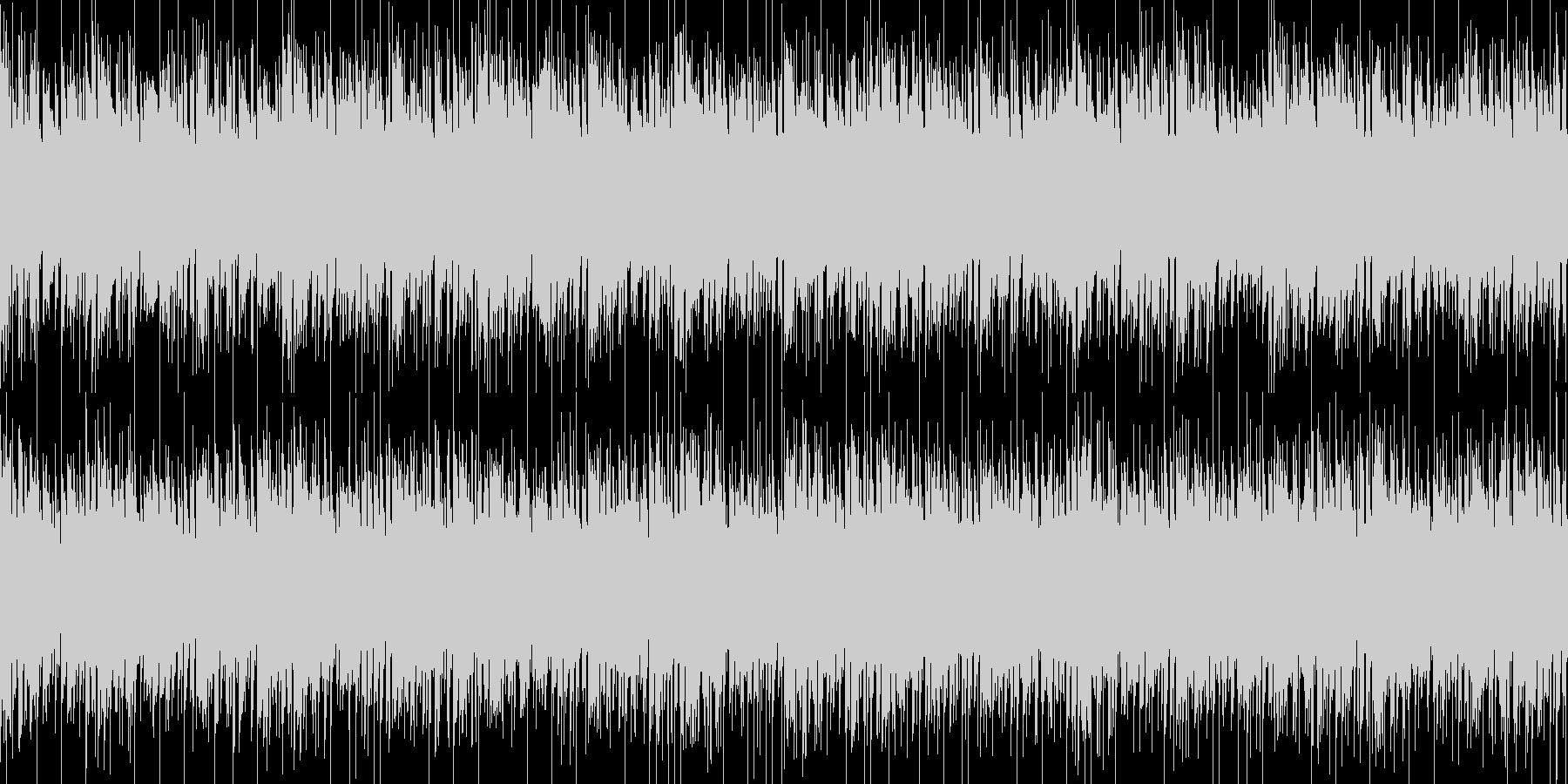 壮絶・悲惨をイメージしたBGMの未再生の波形