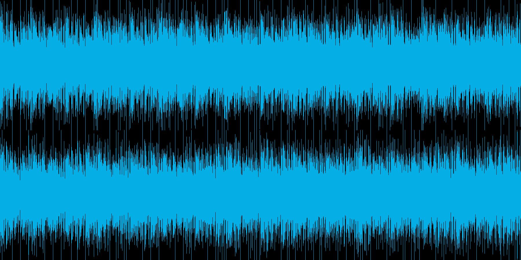 壮絶・悲惨をイメージしたBGMの再生済みの波形
