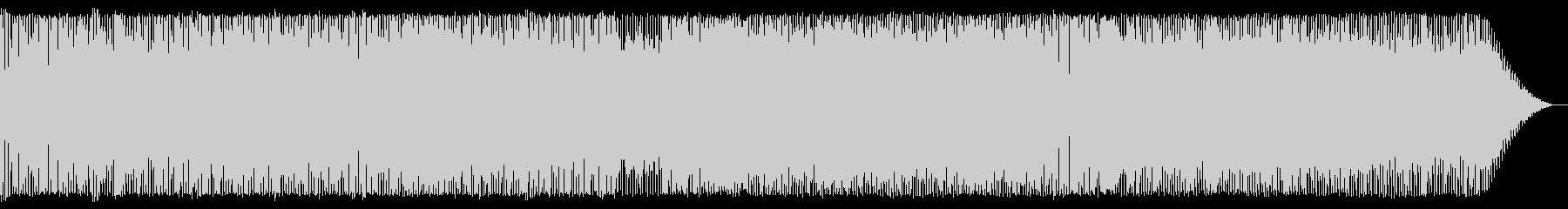 インストのブラスロック-軽快な3連符の未再生の波形