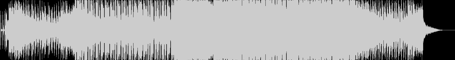 おしゃれエレクトロポップスの未再生の波形