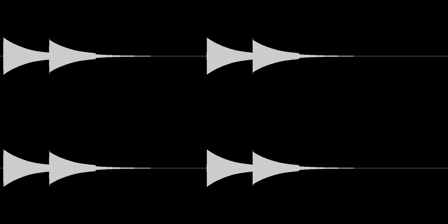 【ドアベル メロディー01-1】の未再生の波形