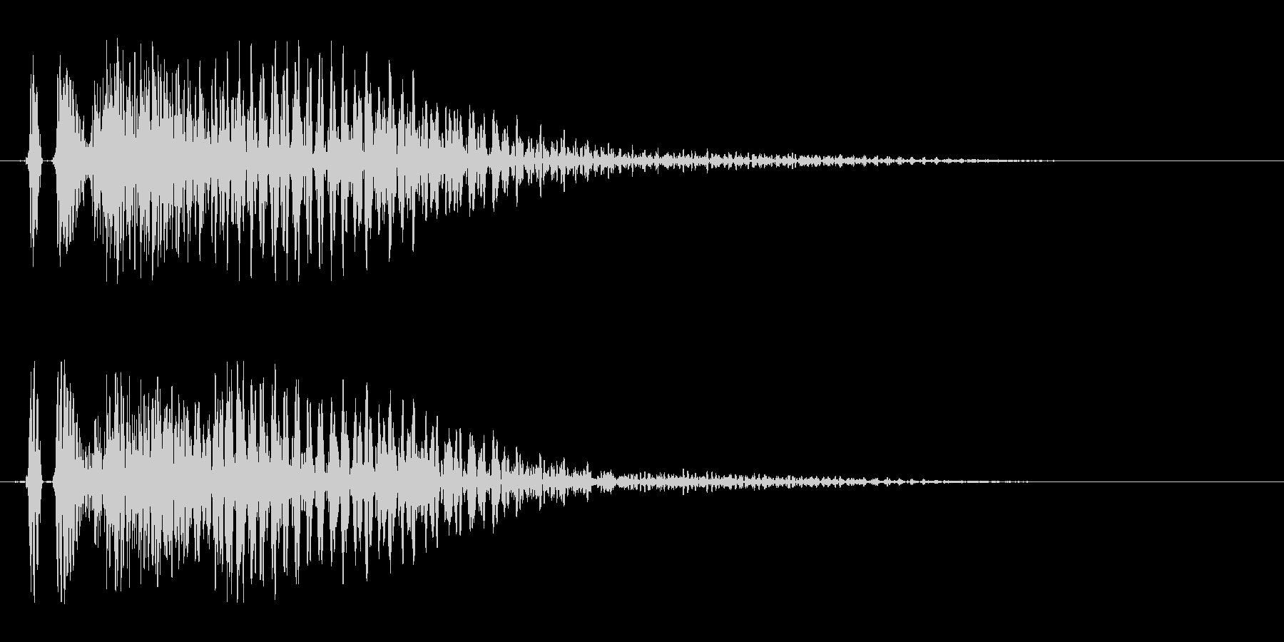 ダン 場面転換 登場の未再生の波形