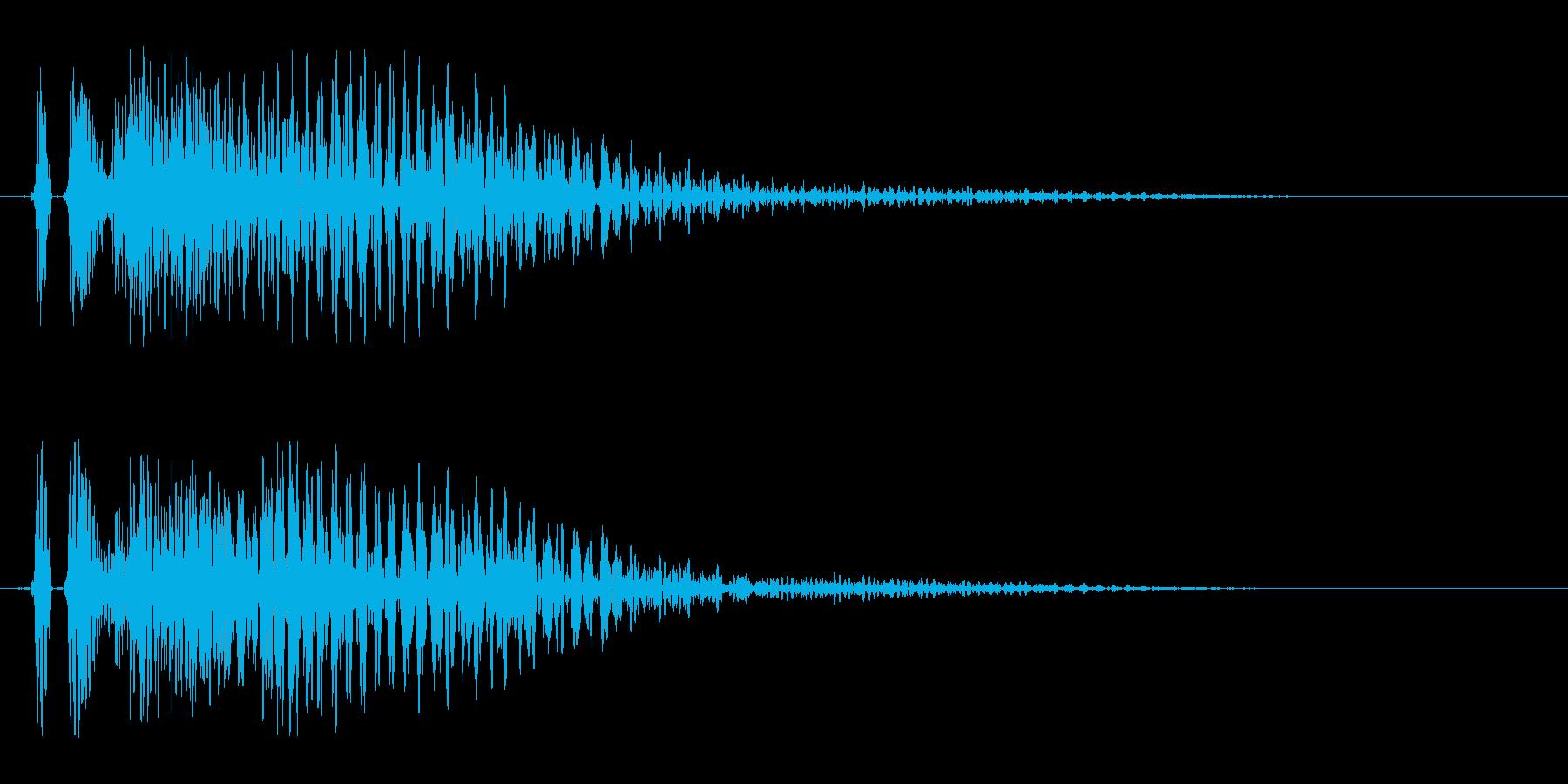 ダン 場面転換 登場の再生済みの波形