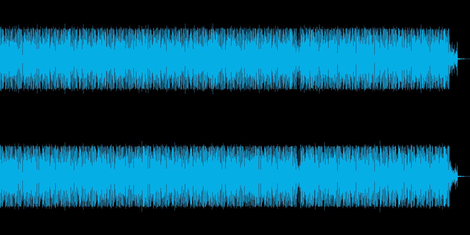 淡々としたおしゃれなループの再生済みの波形