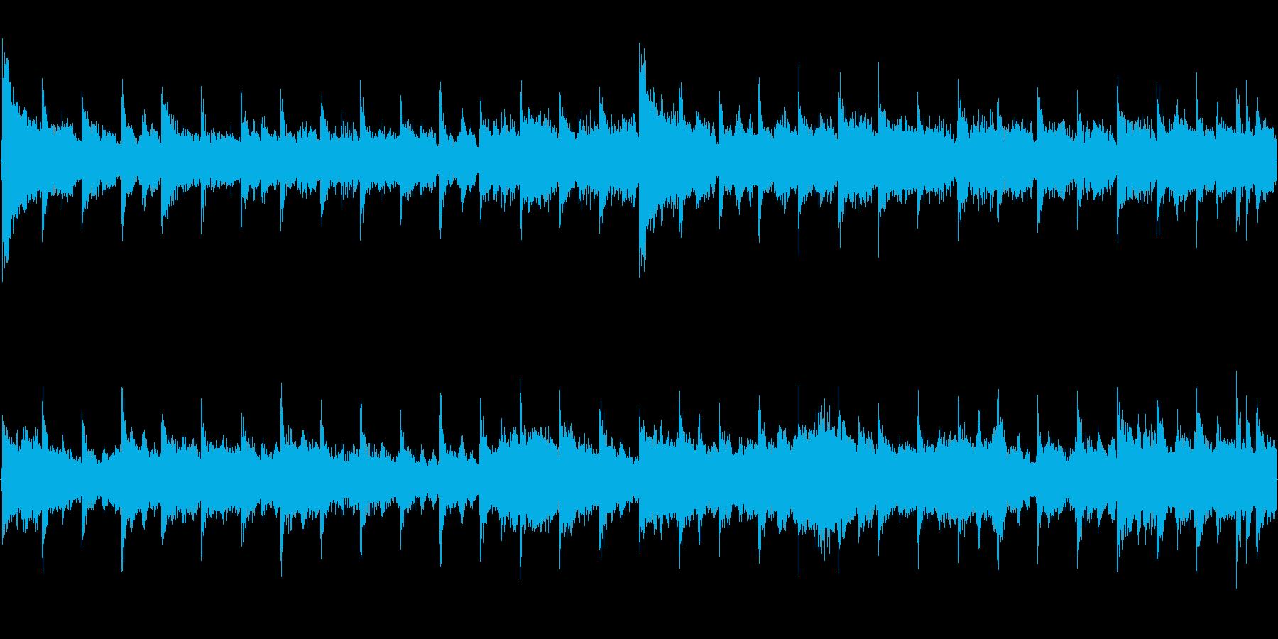 【15秒イントロループ】華やかなベル曲の再生済みの波形