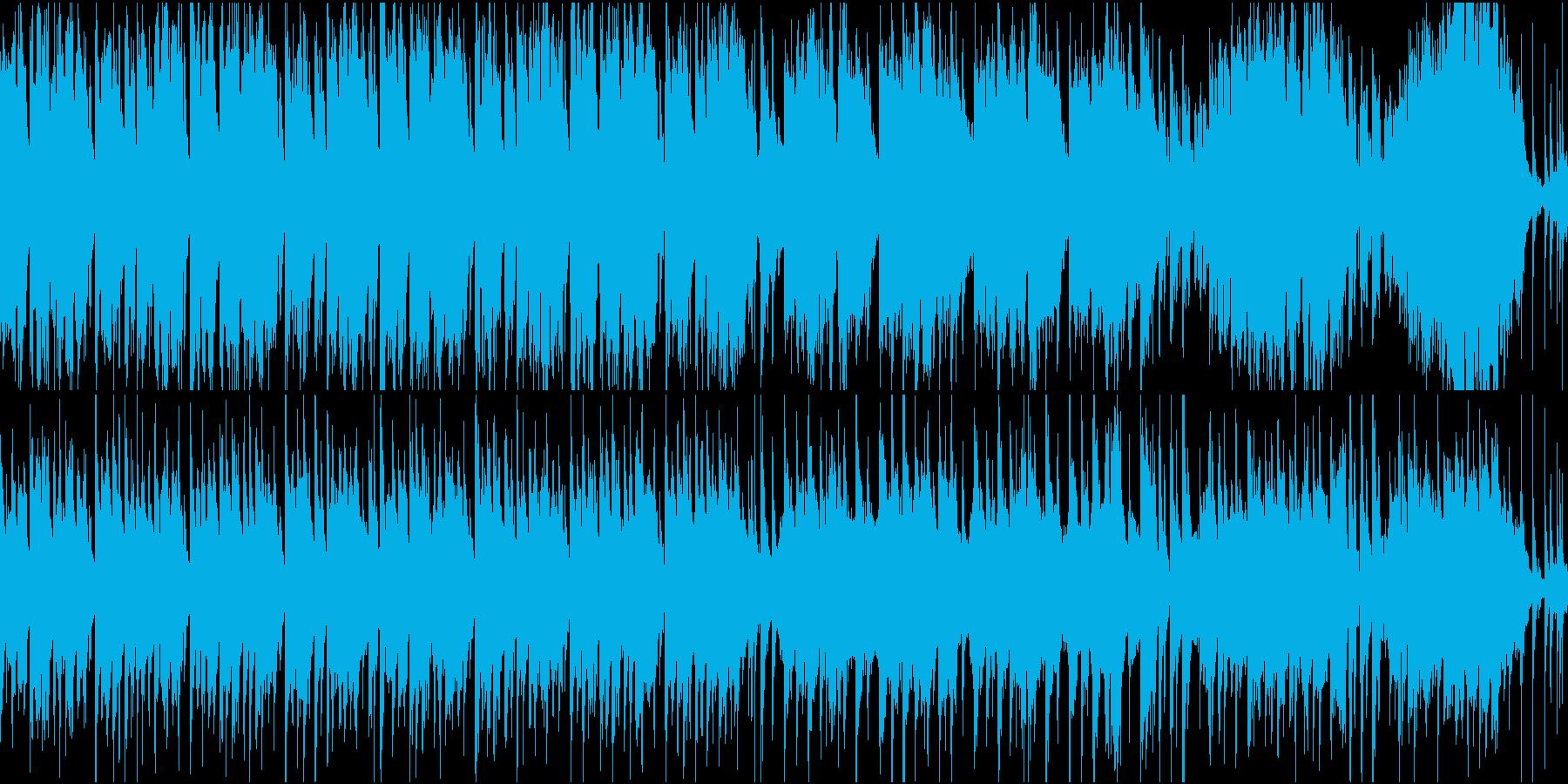 バイオリンのおしゃれで少し切ない感動系の再生済みの波形