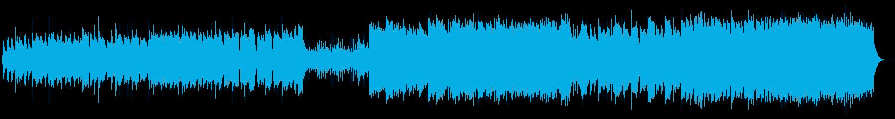 壮大で幻想的でクラシカルなシンセサウンドの再生済みの波形