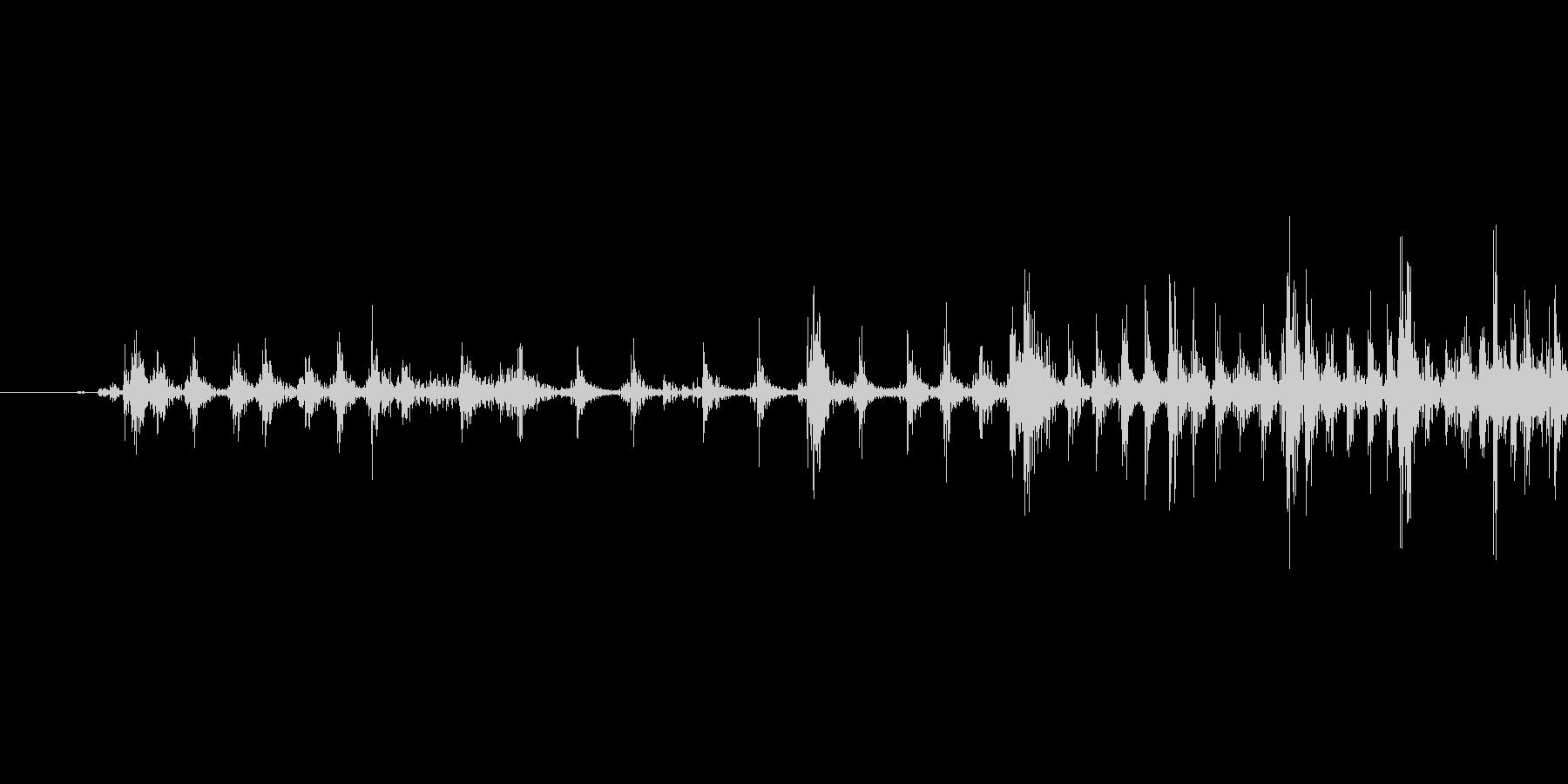 ゲームの効果音 3の未再生の波形