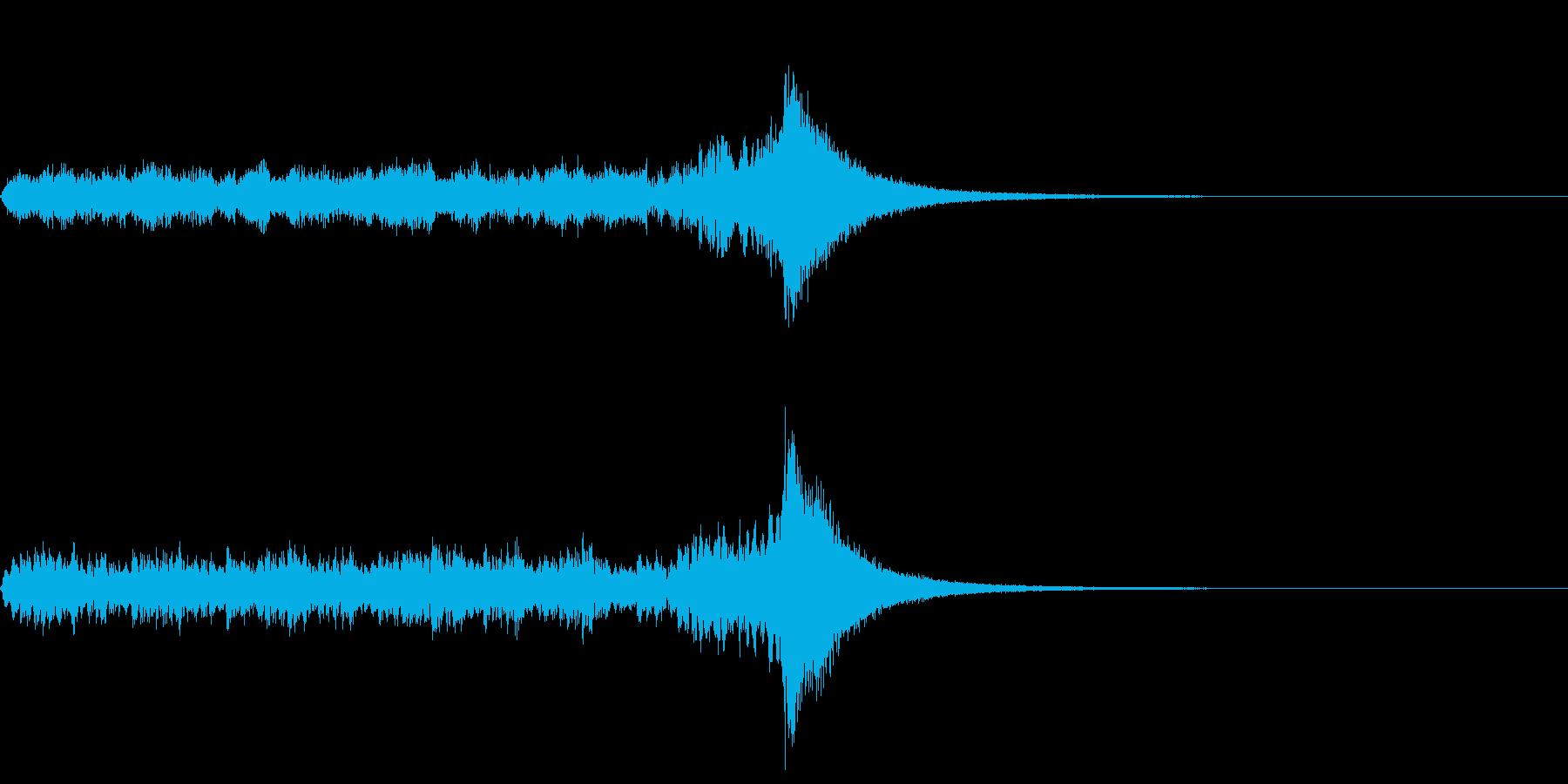 長めのドラムロール(抽選、コンテスト)の再生済みの波形