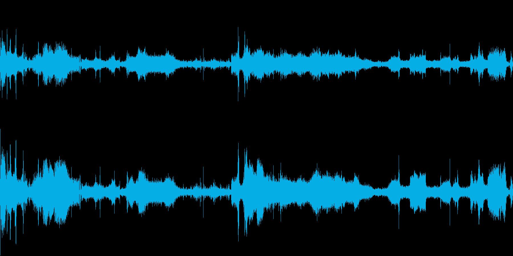 妨害電波の再生済みの波形
