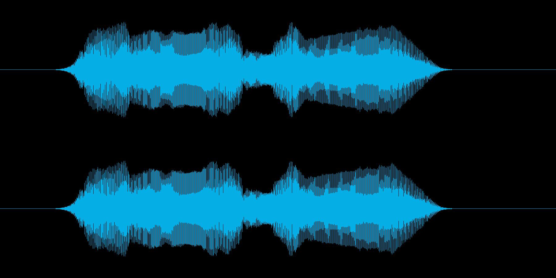 ノー・ノー!の再生済みの波形