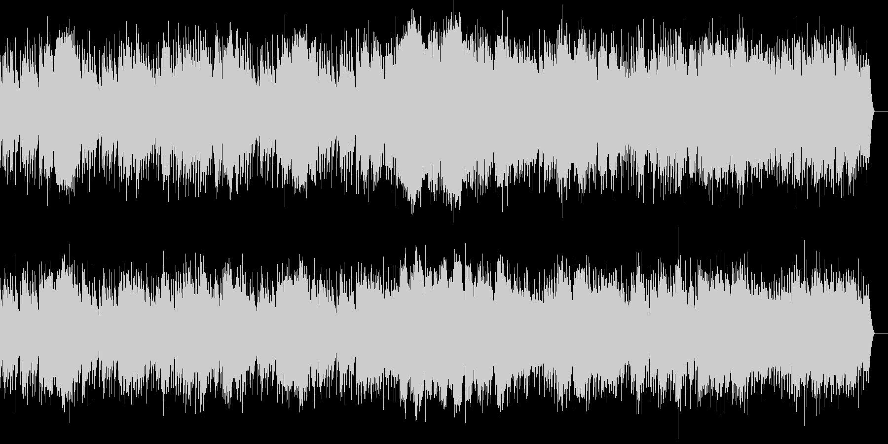 第2曲 行進曲(オルゴール)の未再生の波形