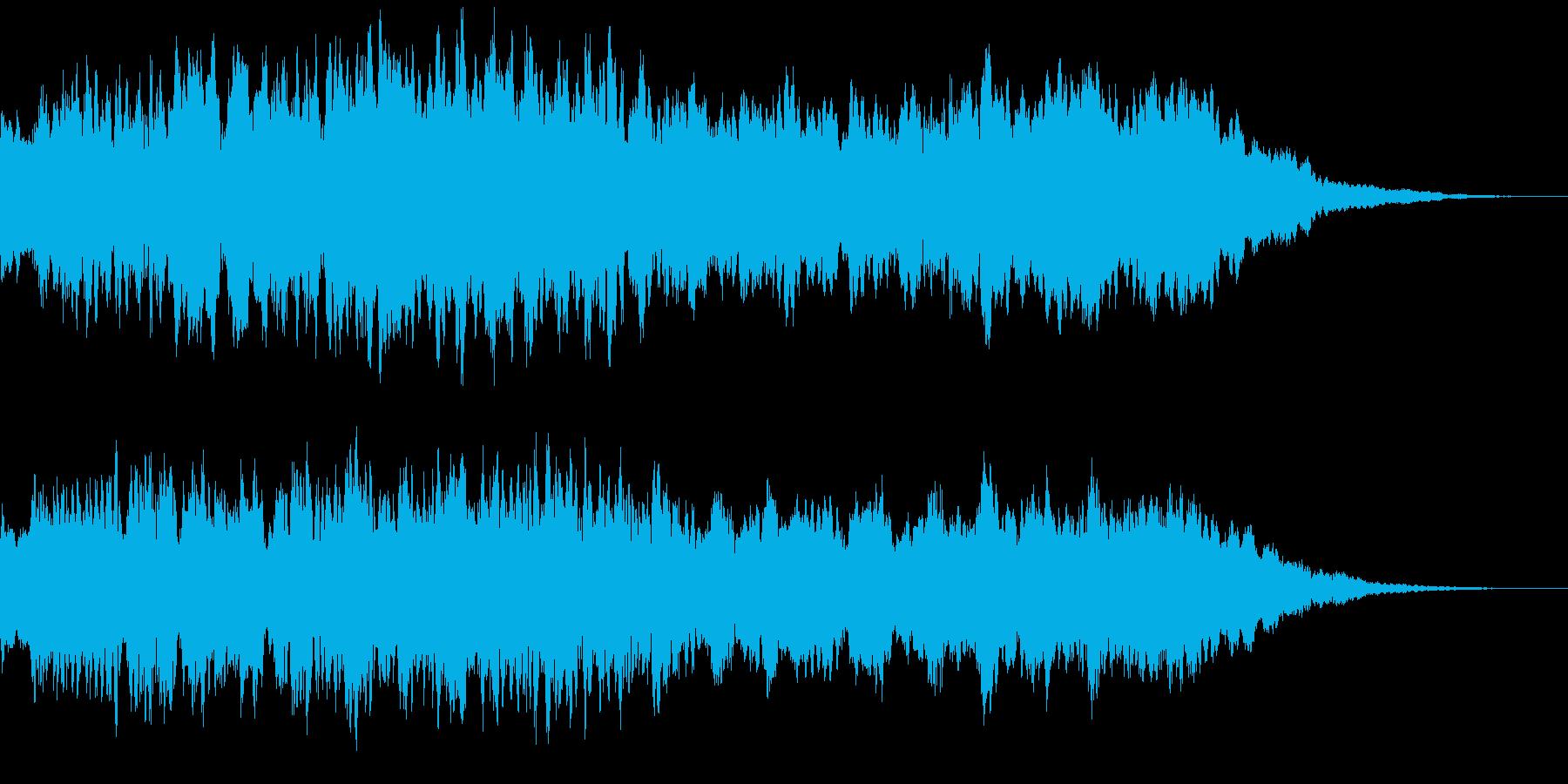 感動表現、CM,ブライダル、ショートBの再生済みの波形