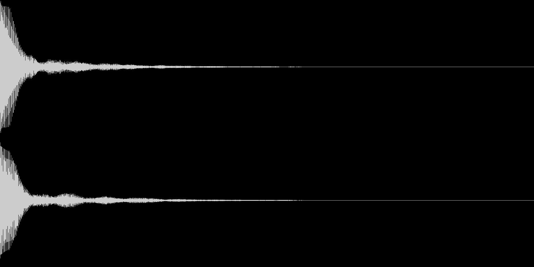 Push 汎用決定・セレクト音 4の未再生の波形