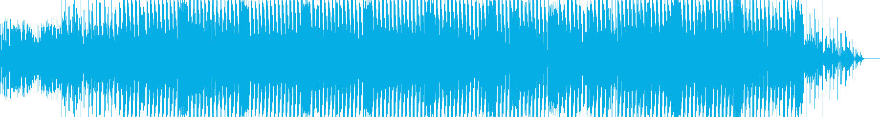 ゲームのオープニングに使えそうなBGMの再生済みの波形