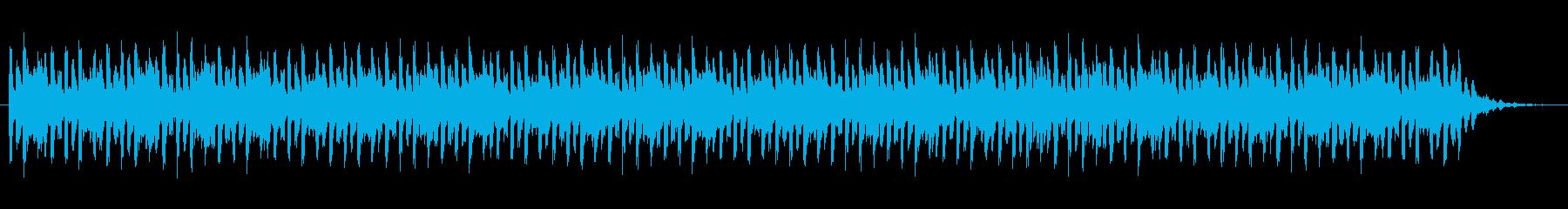 ショートBGM:テクノポップ03の再生済みの波形