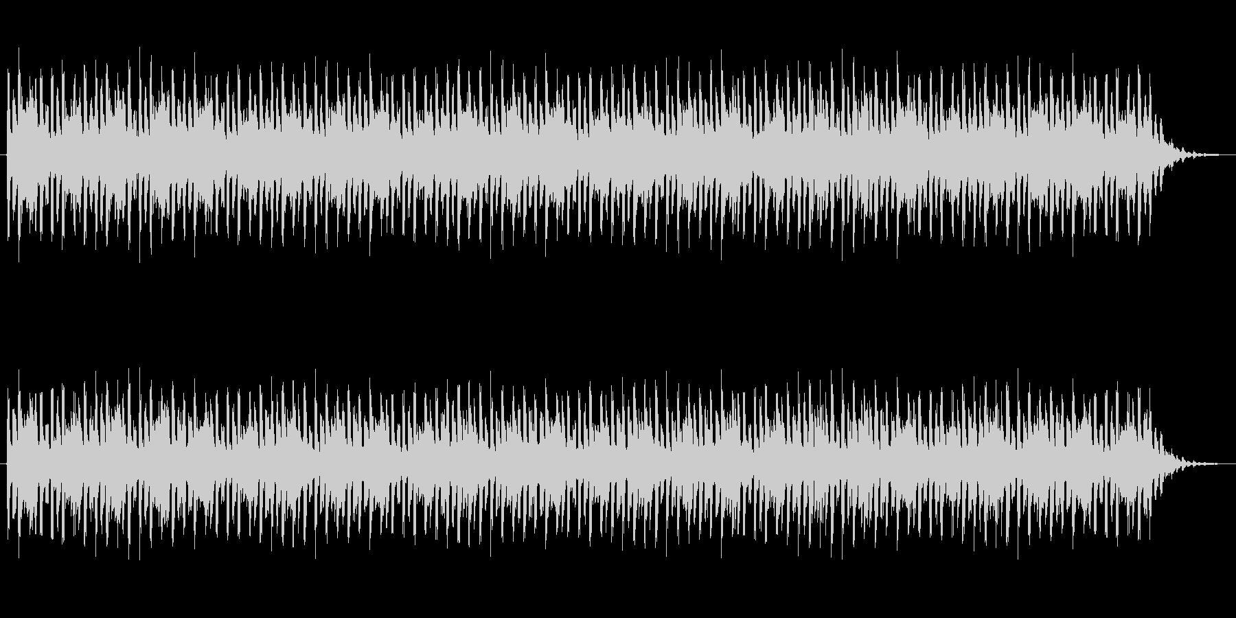 ショートBGM:テクノポップ03の未再生の波形