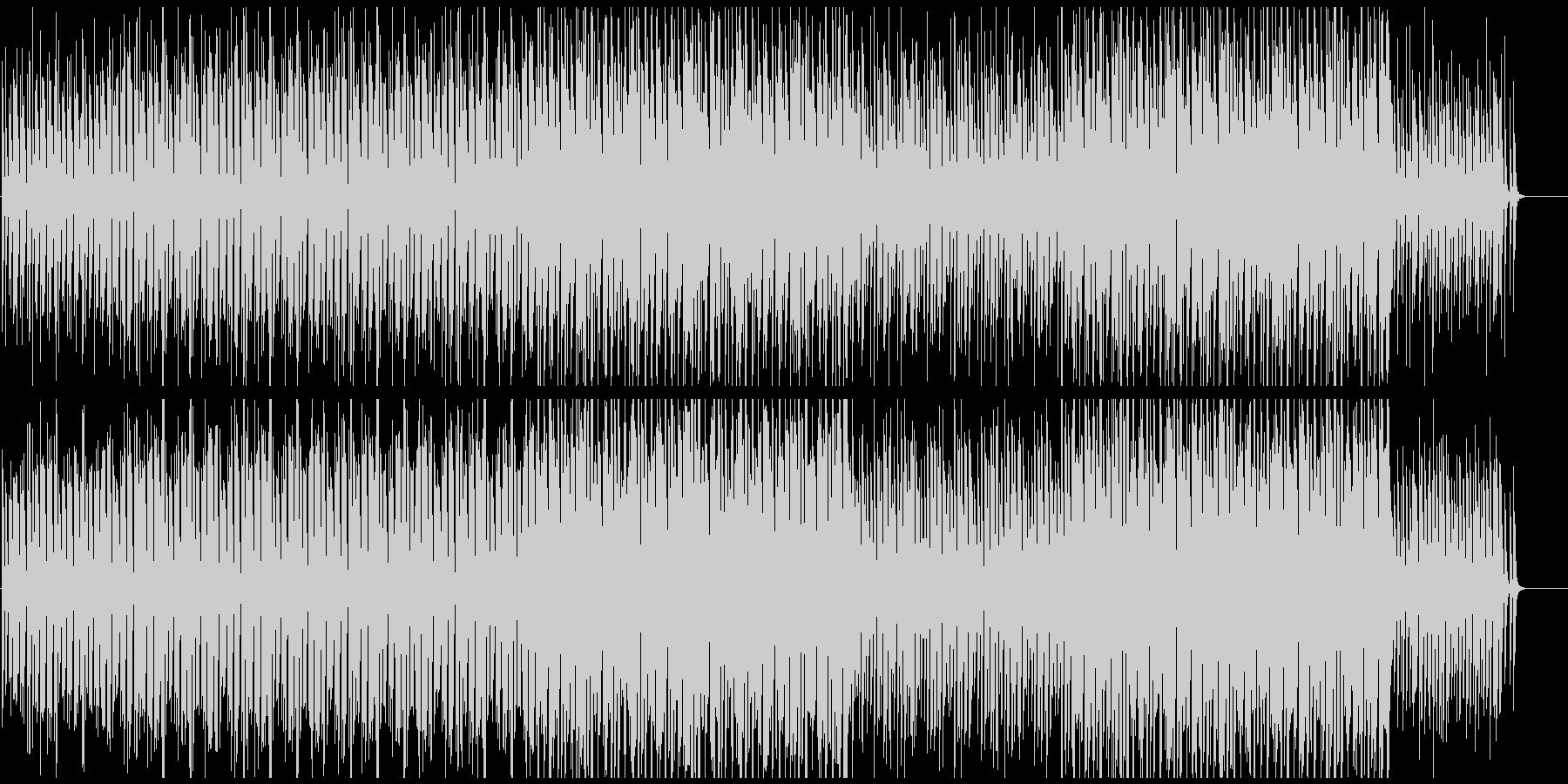 CMや映像に おしゃれボサノバサンバの未再生の波形