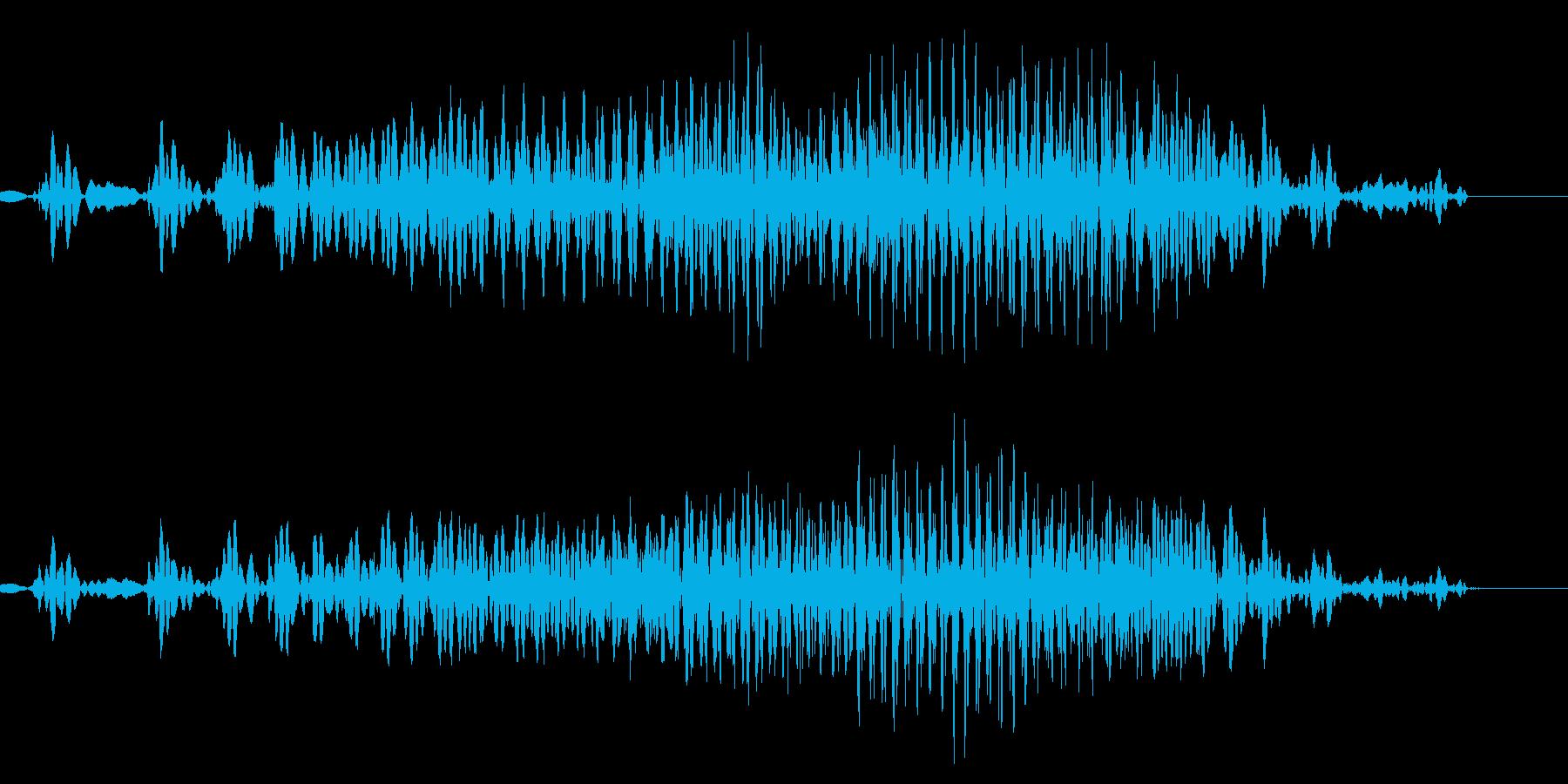 ジッパー/チャックの再生済みの波形