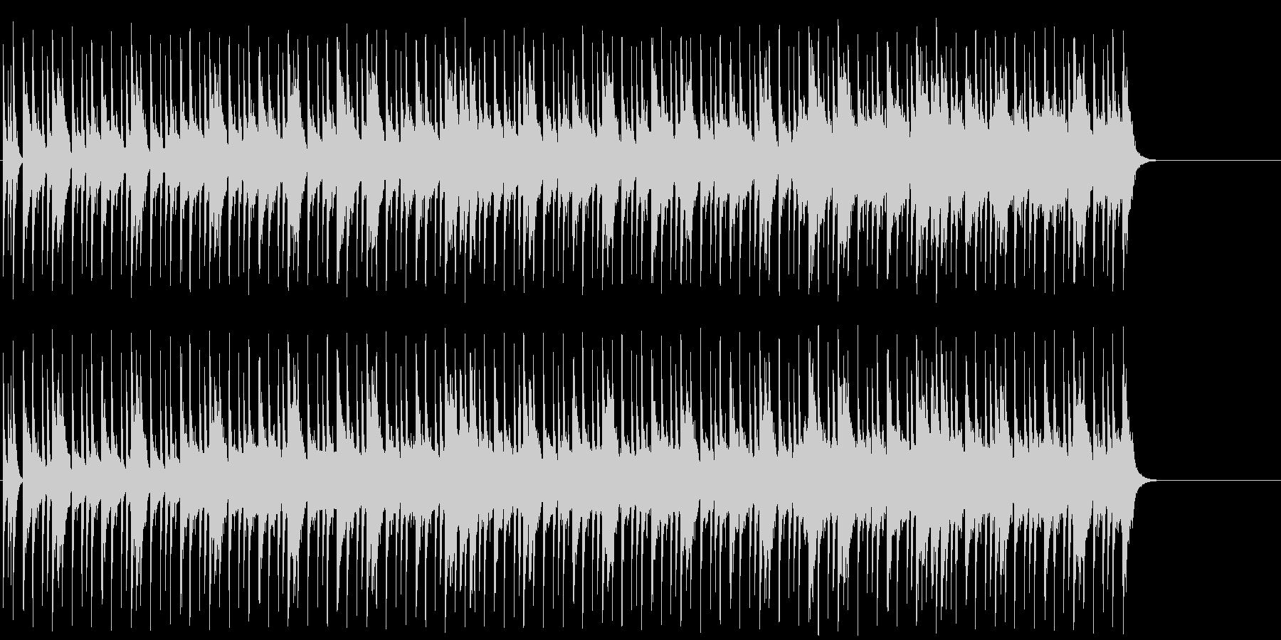 ドラマ・ブリッジ風マイナー・ポップ/BGの未再生の波形