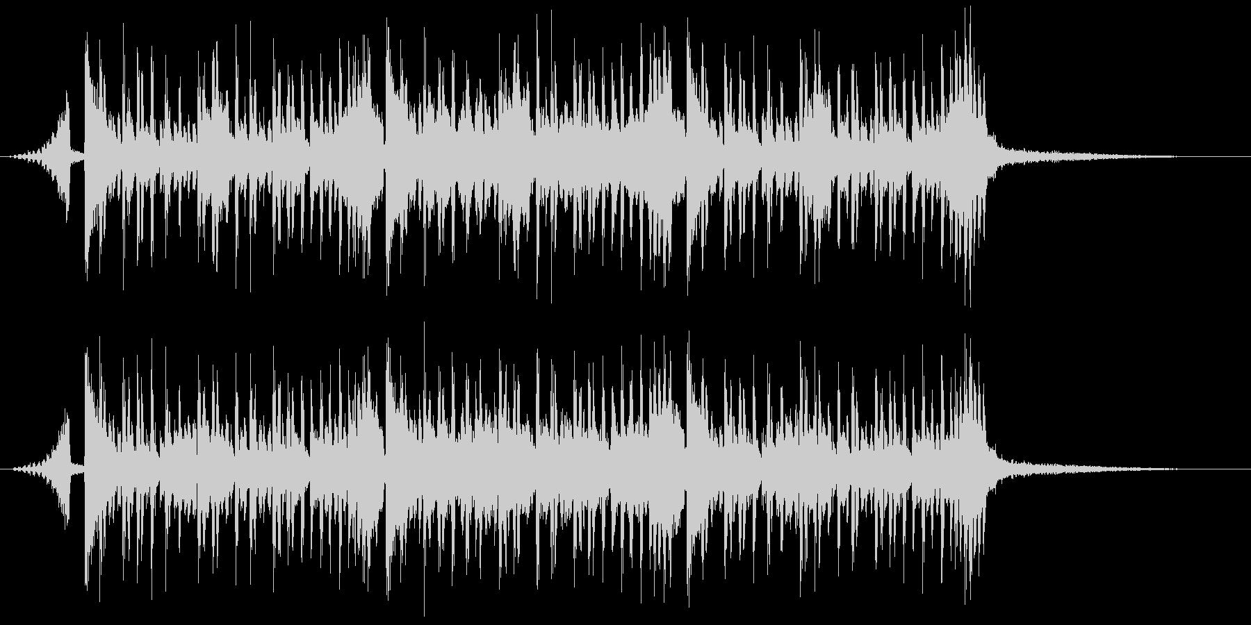シンキング・タイム(メロ無し&ショート)の未再生の波形
