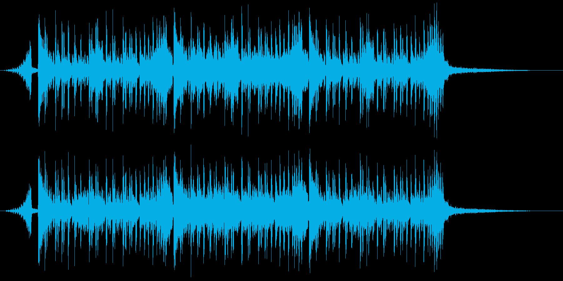 シンキング・タイム(メロ無し&ショート)の再生済みの波形