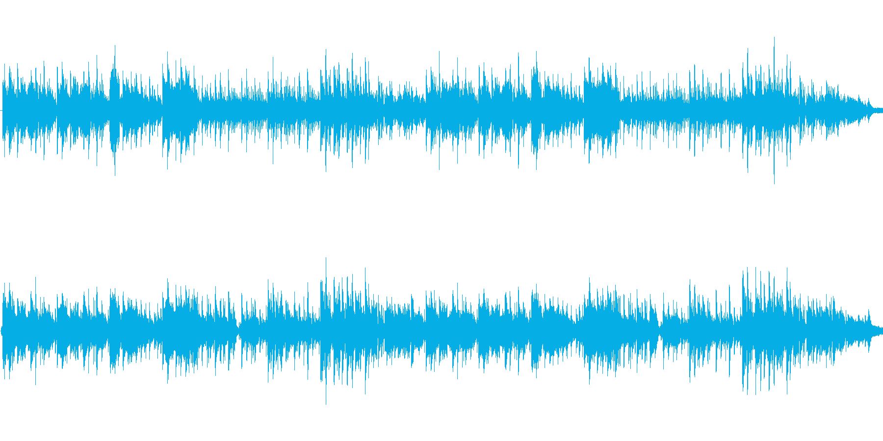 南風の島の再生済みの波形