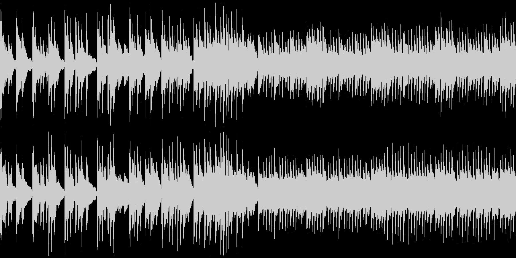 悲しげなピアノ曲です。の未再生の波形