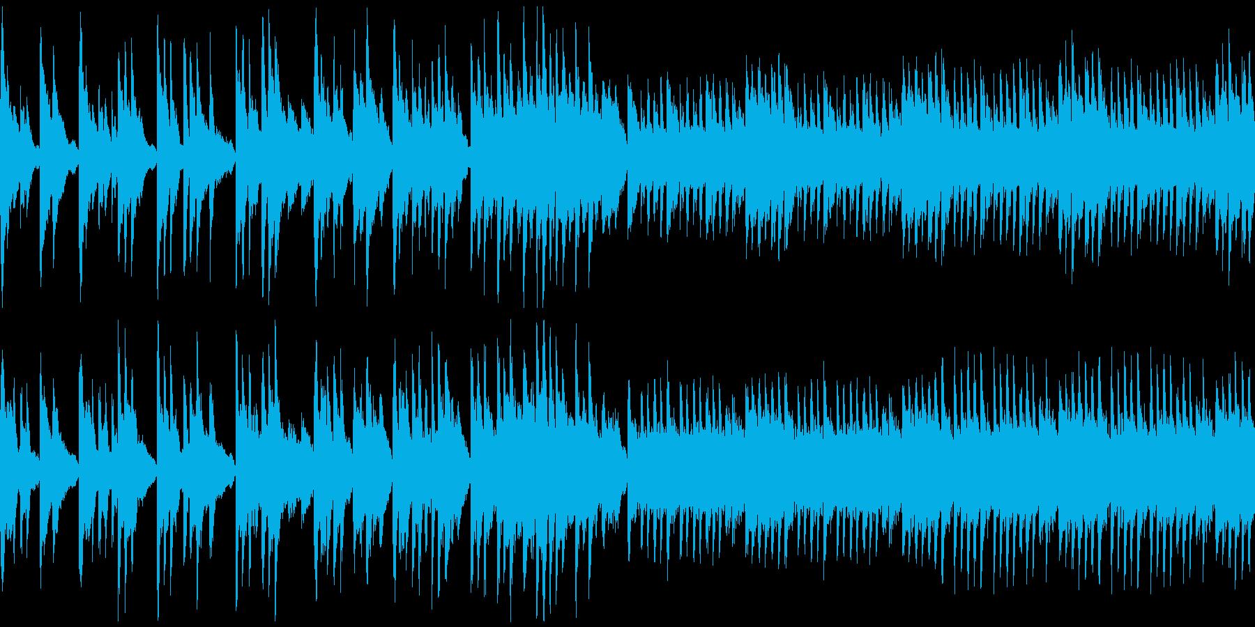悲しげなピアノ曲です。の再生済みの波形