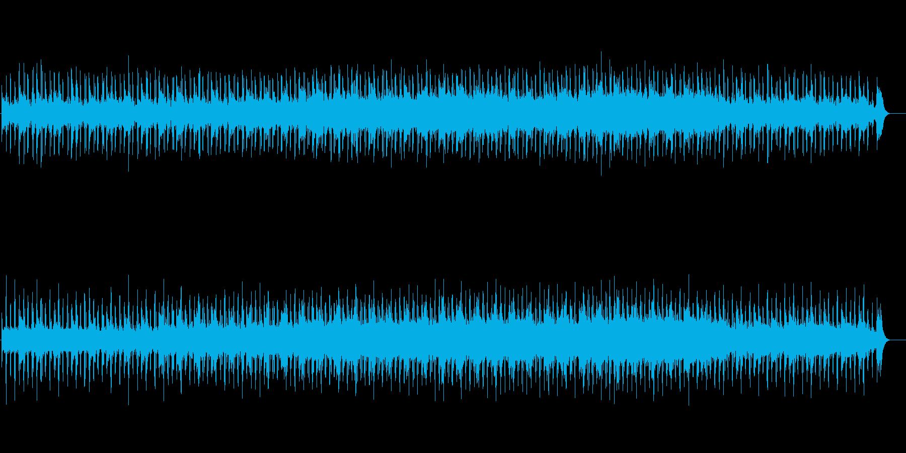 植物、昆虫等、記録物に合うミュージックの再生済みの波形