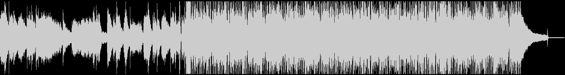 コンテンポラリーなピアノの爽やかBGMの未再生の波形