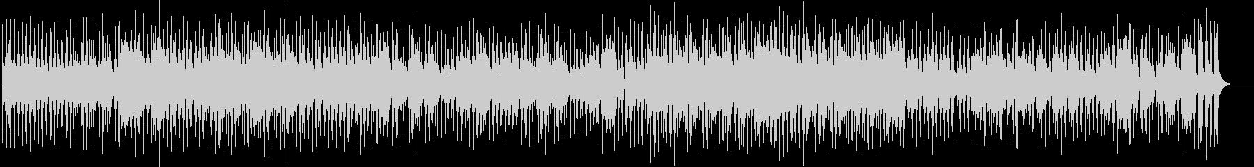カントリー調のレトロで落ち着く曲の未再生の波形
