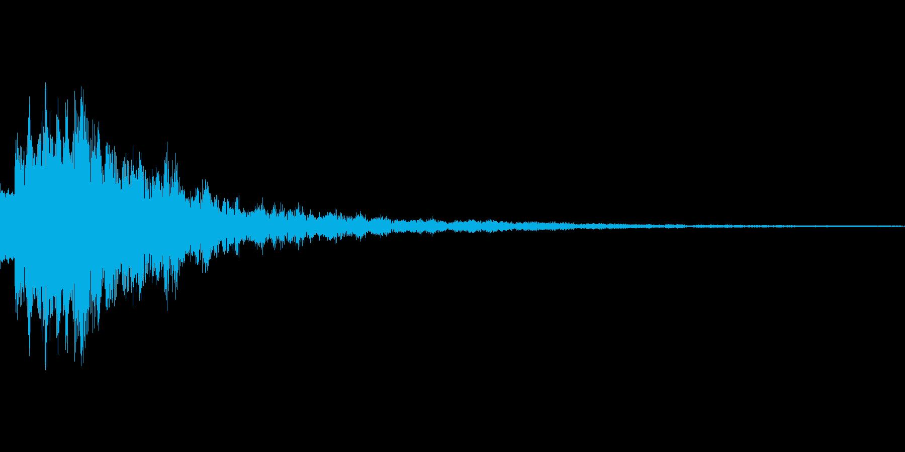 ピロリーン 優しい音 決定音などにの再生済みの波形