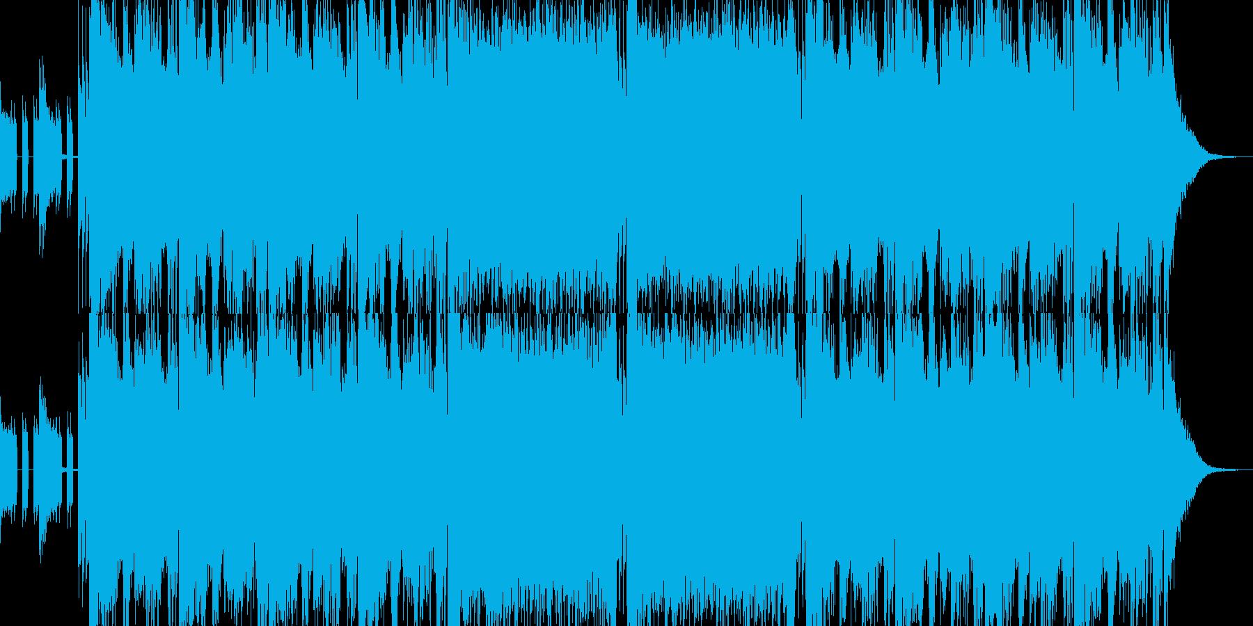 エピック系 オーケストラ クワイヤの再生済みの波形