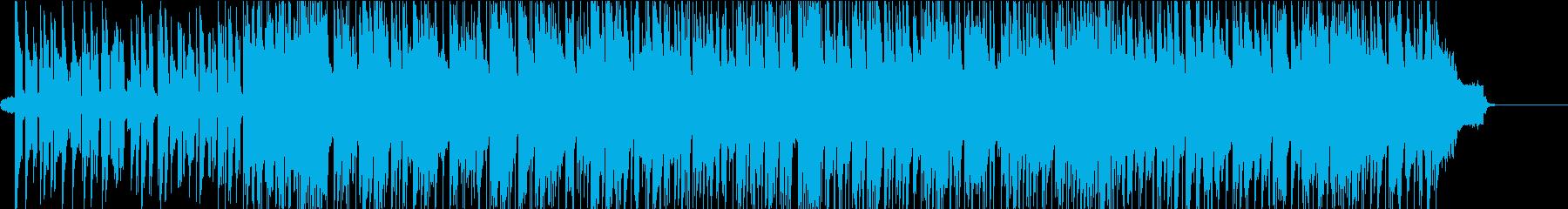 ピアノのアドリブがおしゃれなバンド曲の再生済みの波形