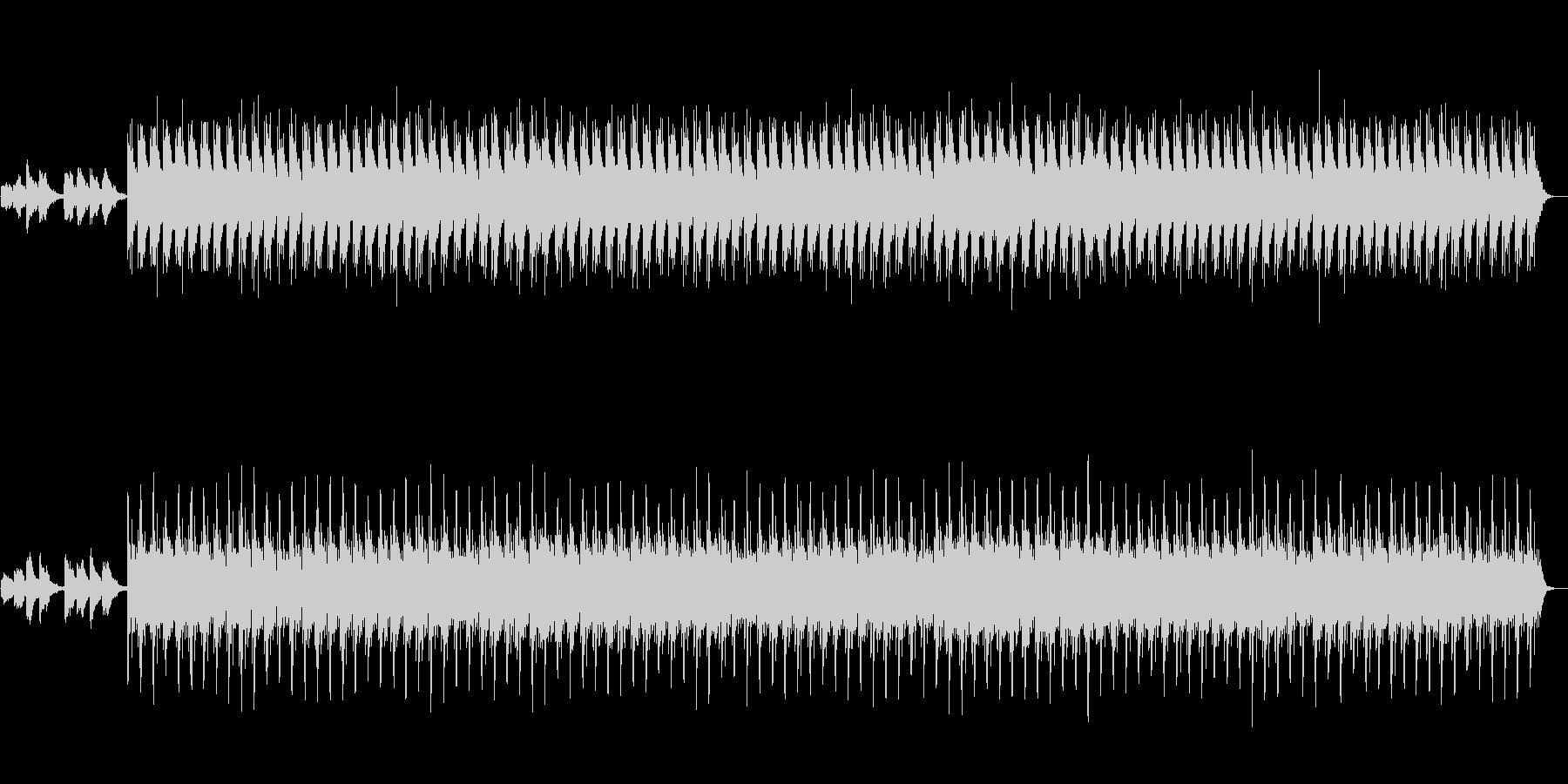 夜 無数のロウソク エレクトロバラードの未再生の波形