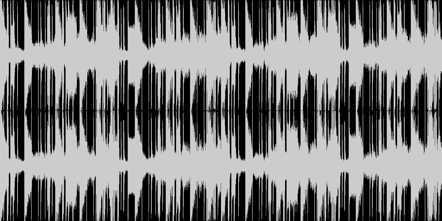 2step風の簡素なループ。低域強め。の未再生の波形