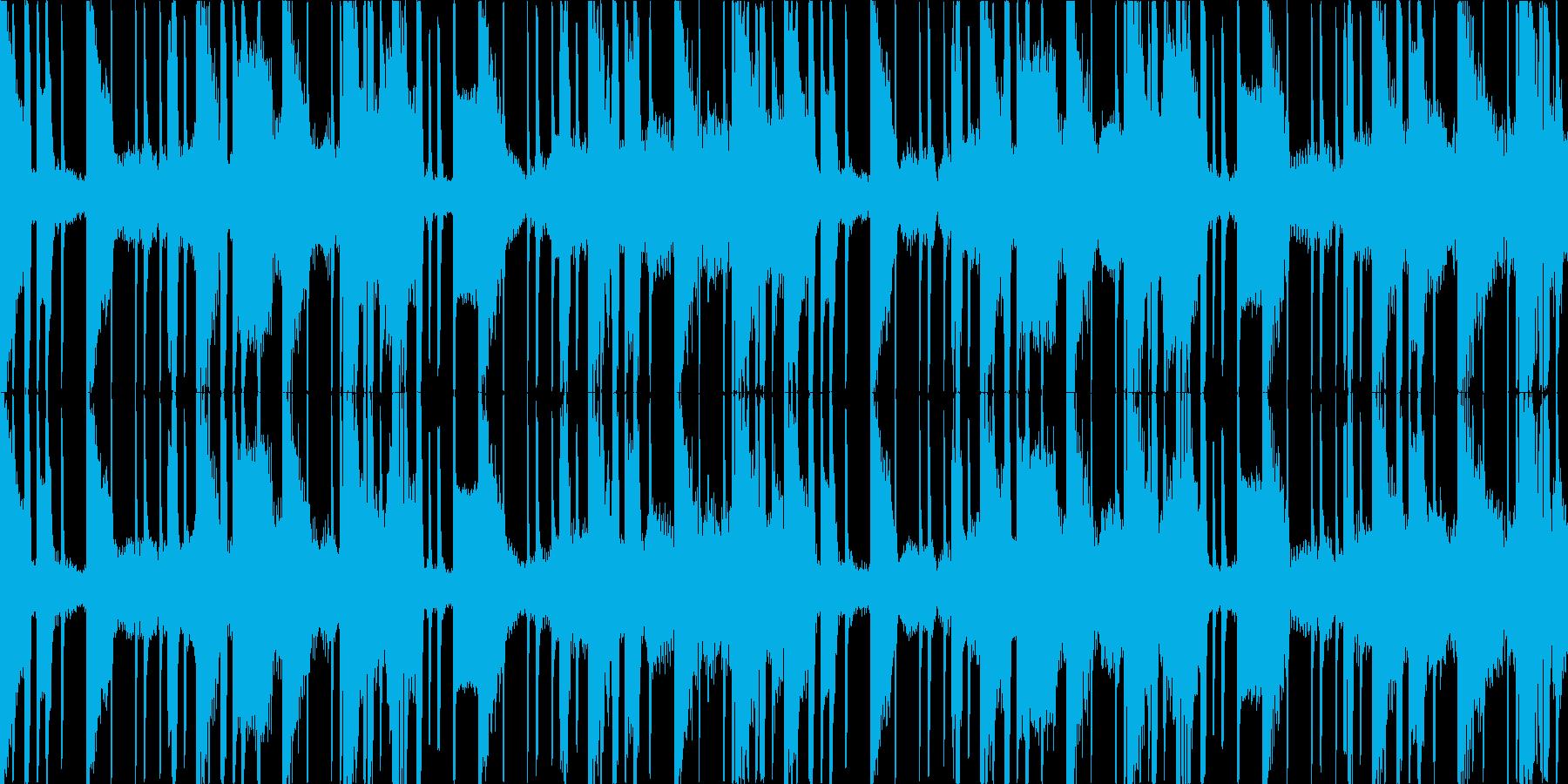 2step風の簡素なループ。低域強め。の再生済みの波形