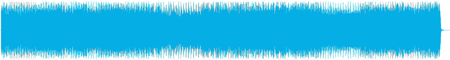 ヘビーでクールなハウスミュージックの再生済みの波形
