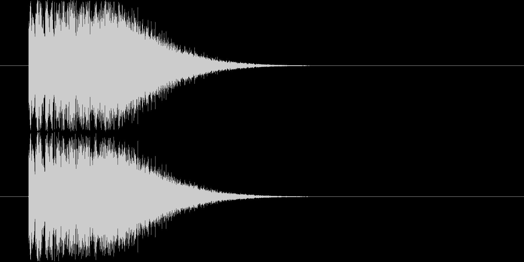 ピロロ~ン キラキラの未再生の波形
