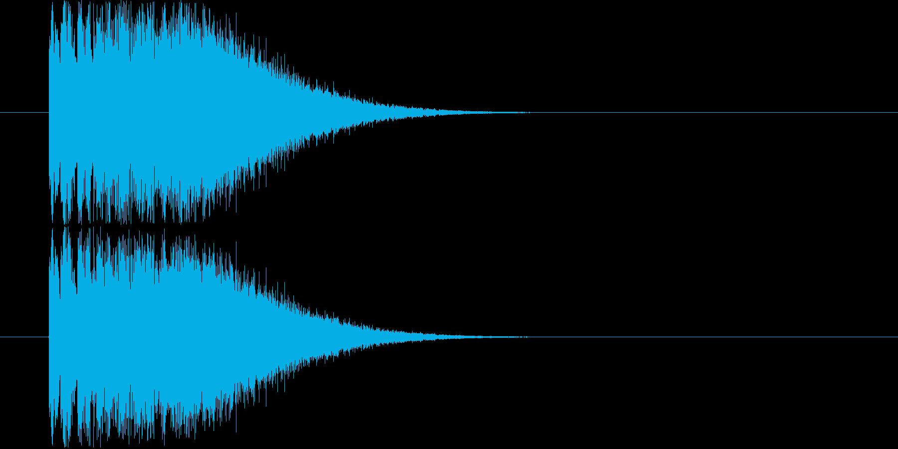ピロロ~ン キラキラの再生済みの波形
