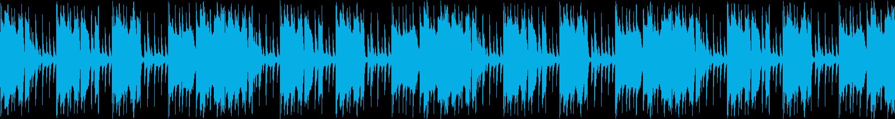 【おしゃれなカフェJAZZBGM】の再生済みの波形