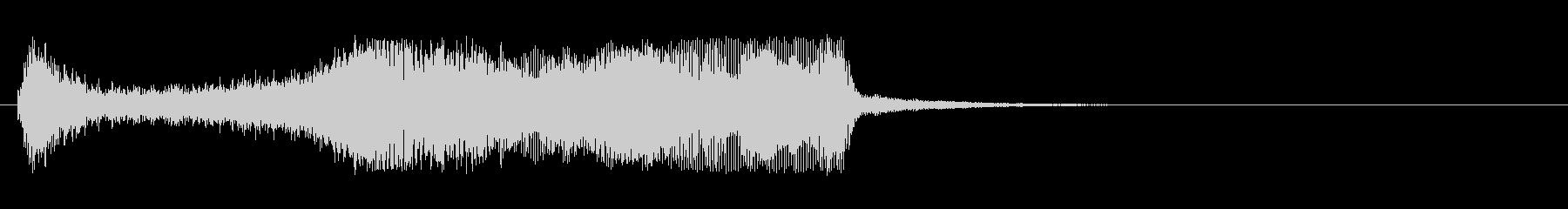 恐怖・ホラー・サスペンス系のストリングスの未再生の波形