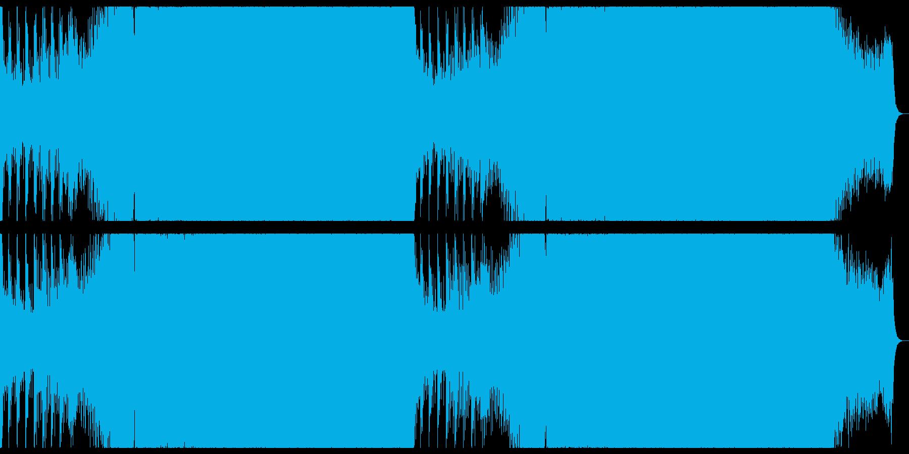 爽やかで切ないドラムンベース。の再生済みの波形