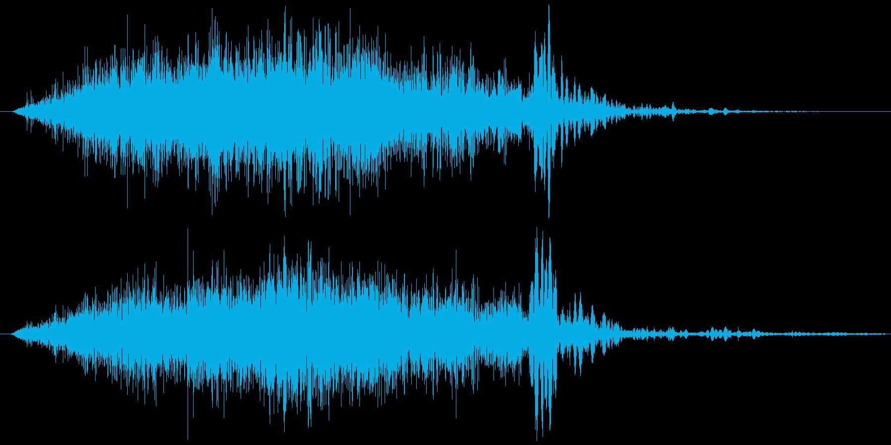 引き出し アンティーク (閉める)の再生済みの波形