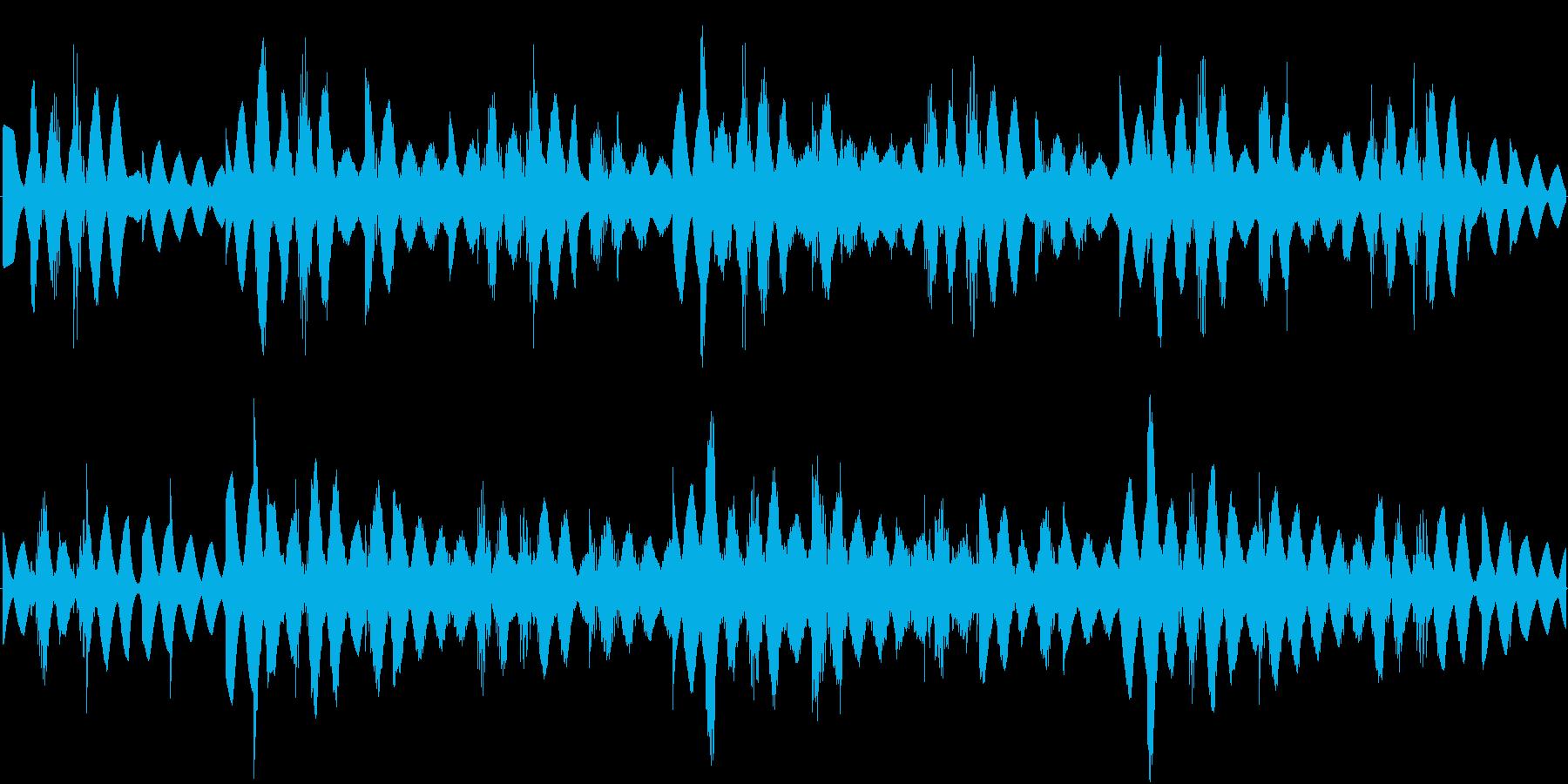 着信時にビックリしないシンプル着メロの再生済みの波形