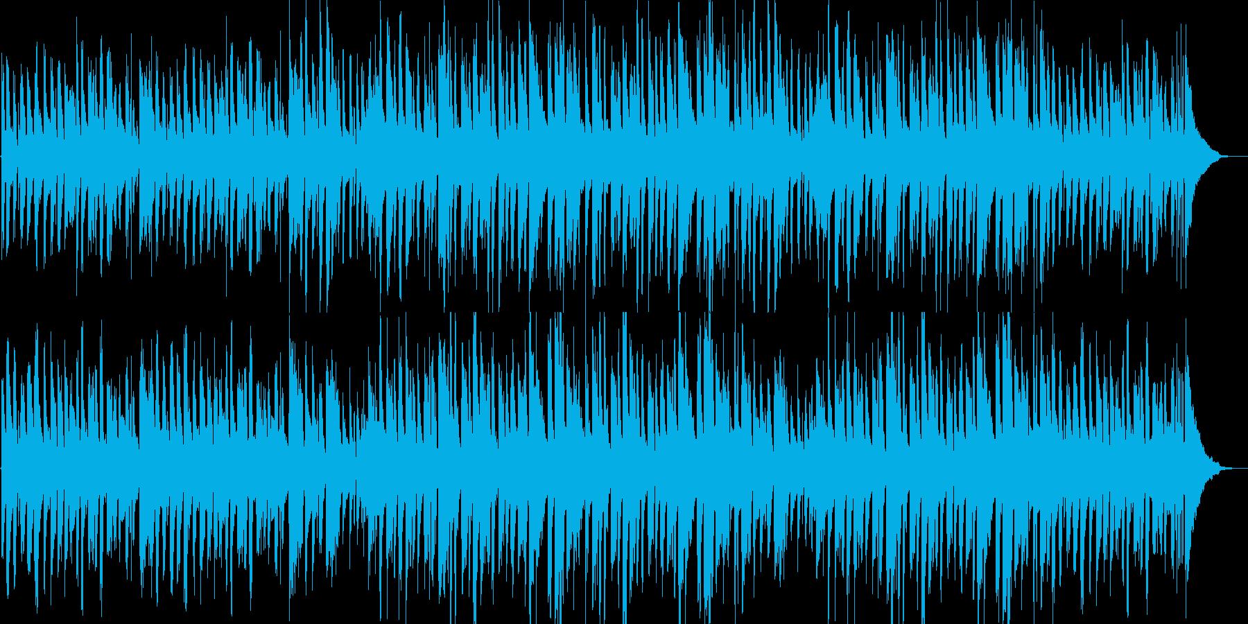 リラックス・おしゃれ・ピアノ・ボサノバ調の再生済みの波形