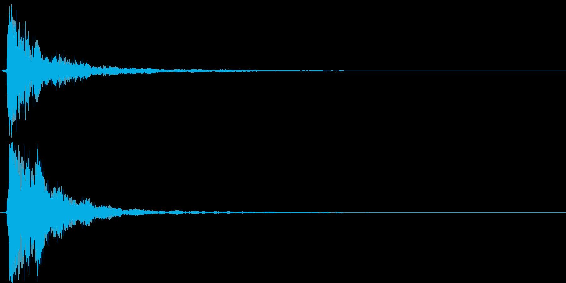 【ピロン】ゲームの決定などに最適な音の再生済みの波形