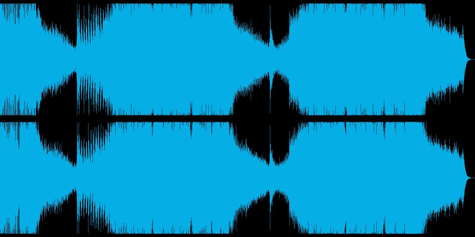 切なく感動的なプログレッシブハウス。の再生済みの波形